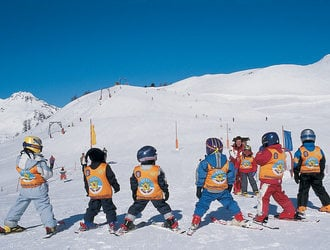 Learn to ski with us